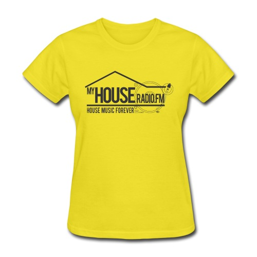 My House Radio Black Logo - Women's T-Shirt