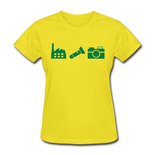 DCUE_Icons_Small - Women's T-Shirt
