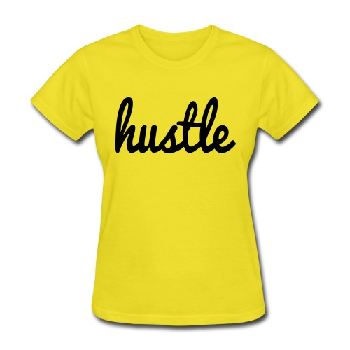 hustle vector - Women's T-Shirt