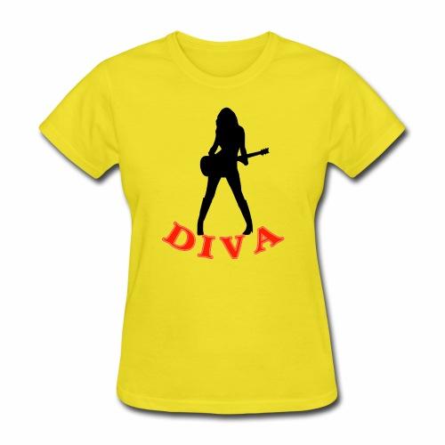 Rock Star Diva - Women's T-Shirt