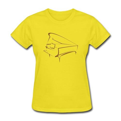 piano - Women's T-Shirt