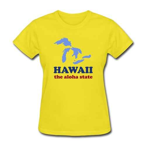 Geographically Impaired - Women's T-Shirt