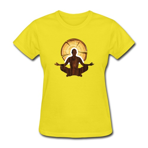 Woodworking is my meditation - Women's T-Shirt