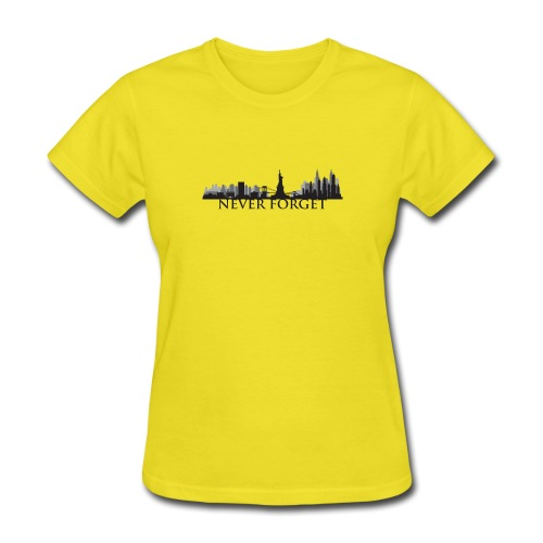 New York: Never Forget - Women's T-Shirt
