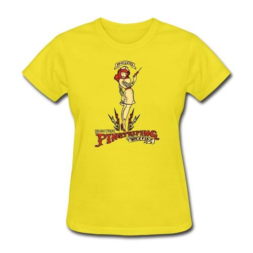 Painless Electric Pinstriping - Women's T-Shirt