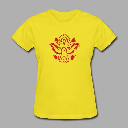 Double headed Lovebird - Women's T-Shirt