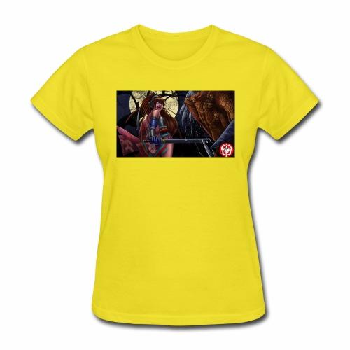 Anime Demon Hunter - Women's T-Shirt