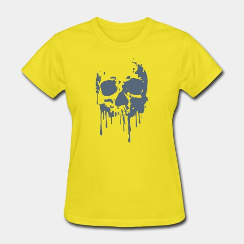 skull blood - Women's T-Shirt