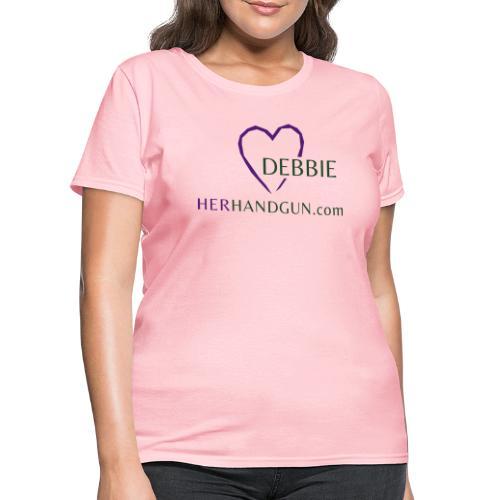 HerHandgun DEBBIE ONLY - Women's T-Shirt