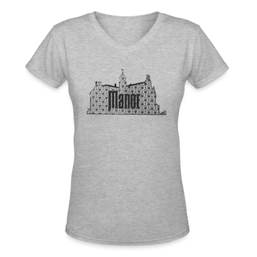Mind Your Manors - Women's V-Neck T-Shirt