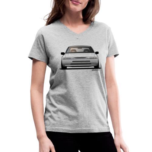 Subaru Alcyone SVX Modern JDM Icon Sticker - Women's V-Neck T-Shirt