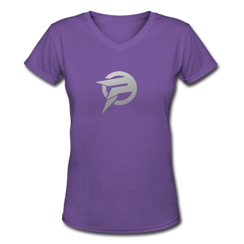 2dlogopath - Women's V-Neck T-Shirt