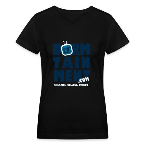 basic dt tshirt2 - Women's V-Neck T-Shirt