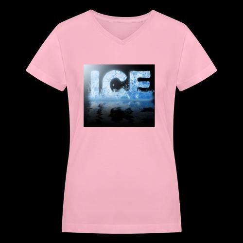 CDB5567F 826B 4633 8165 5E5B6AD5A6B2 - Women's V-Neck T-Shirt