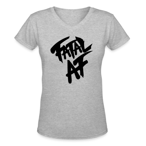 fatalaf - Women's V-Neck T-Shirt