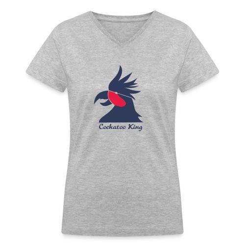 Cockatoo Logo - Women's V-Neck T-Shirt