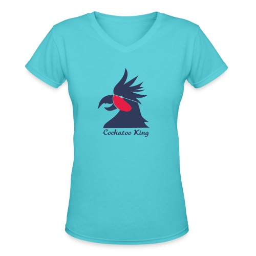 Cockatoo Logo - Women's V-Neck T-Shirt