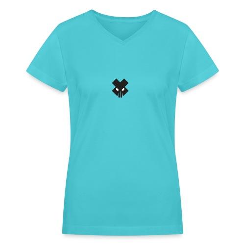 T.V.T.LIFE LOGO - Women's V-Neck T-Shirt
