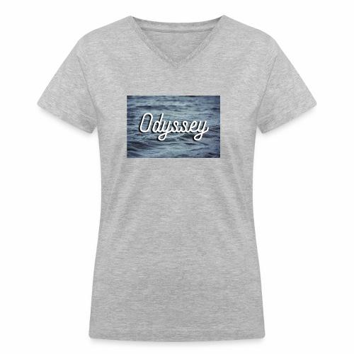 WaterOdyssey - Women's V-Neck T-Shirt