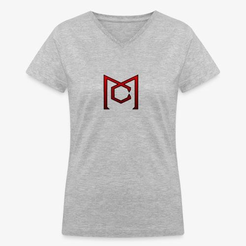 Military central - Women's V-Neck T-Shirt
