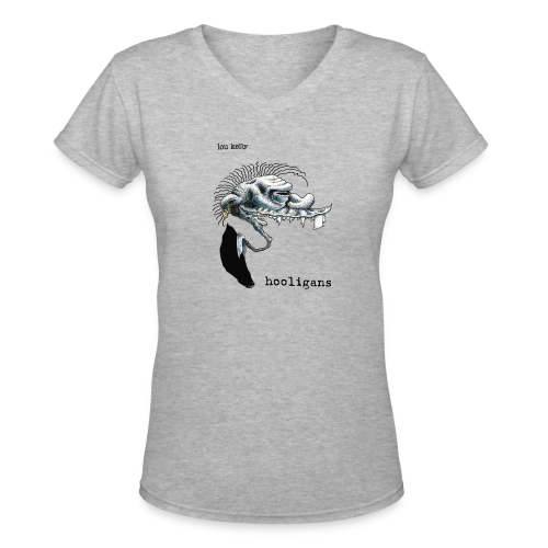 Lou Kelly - Hooligans Album Cover - Women's V-Neck T-Shirt