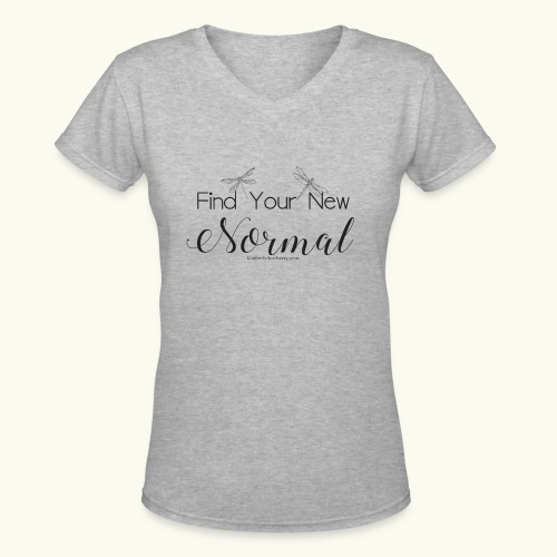 Find Your New Normal - Women's V-Neck T-Shirt