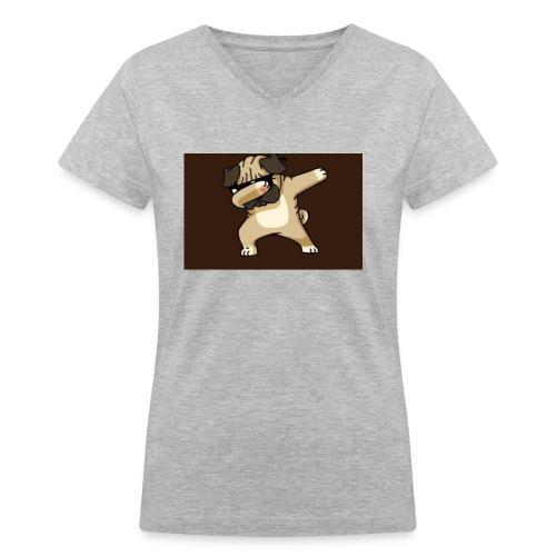 7FD307CA 0912 45D5 9D31 1BDF9ABF9227 - Women's V-Neck T-Shirt