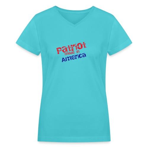 Patriot mug - Women's V-Neck T-Shirt