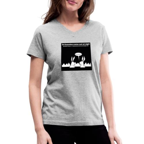 tbcoan Where the bitches at? - Women's V-Neck T-Shirt