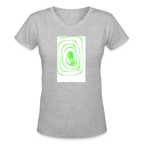 171223 112850 - Women's V-Neck T-Shirt
