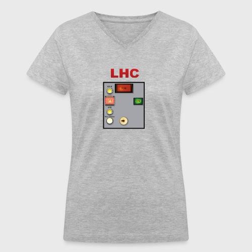 LHC Large Hadron Collider - Women's V-Neck T-Shirt