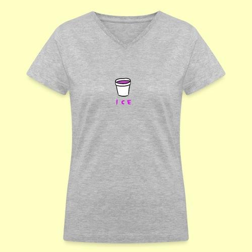 ICE - Women's V-Neck T-Shirt