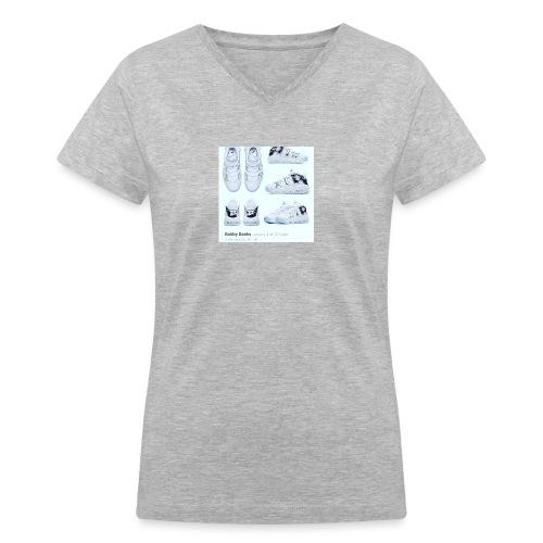 04EB9DA8 A61B 460B 8B95 9883E23C654F - Women's V-Neck T-Shirt