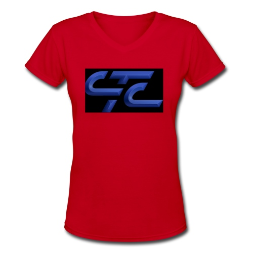 4CA47E3D 2855 4CA9 A4B9 569FE87CE8AF - Women's V-Neck T-Shirt