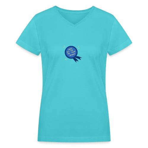 Regret - Women's V-Neck T-Shirt