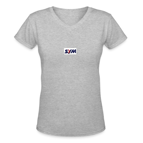 download_-7- - Women's V-Neck T-Shirt
