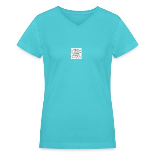 lit - Women's V-Neck T-Shirt