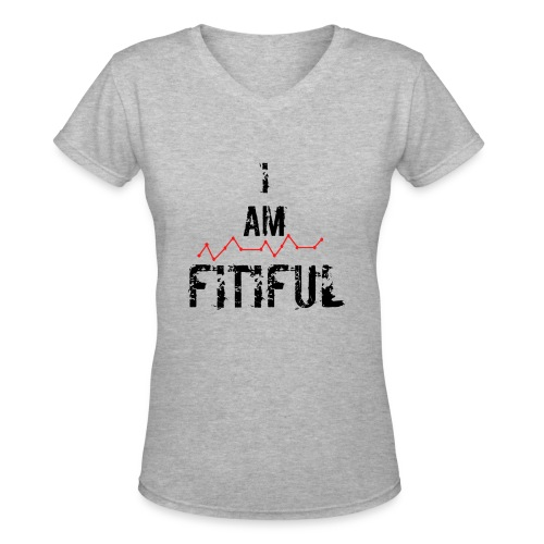 I AM Collection - Women's V-Neck T-Shirt