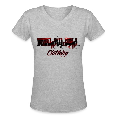 murdaland teeapril 2017 - Women's V-Neck T-Shirt