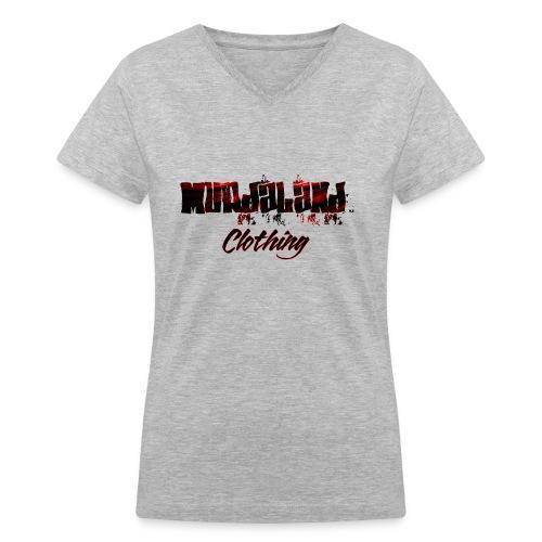 murdaland teeapril 2017 - Women's V-Neck T-Shirt