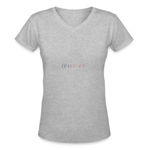 Freedom - Women's V-Neck T-Shirt