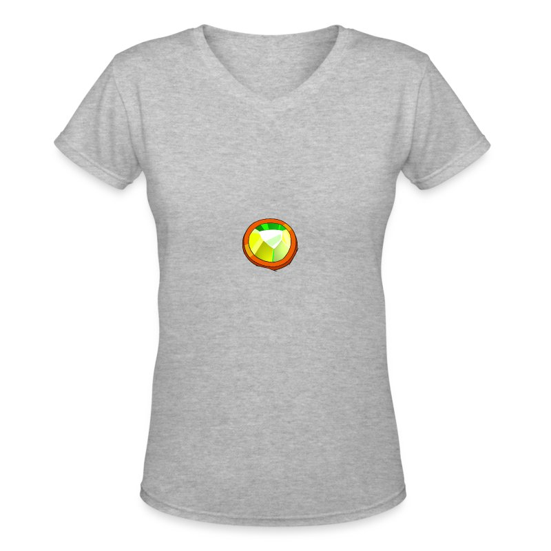 Life Crystal - Women's V-Neck T-Shirt