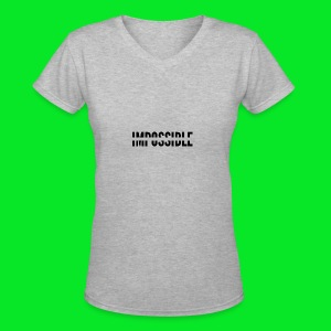 Impossible - Women's V-Neck T-Shirt