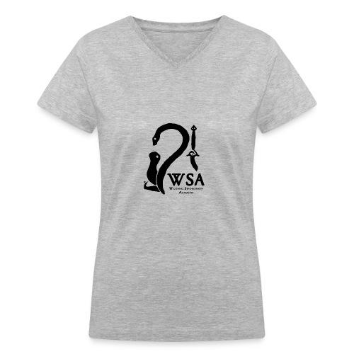 wsatshirt cutlogof - Women's V-Neck T-Shirt