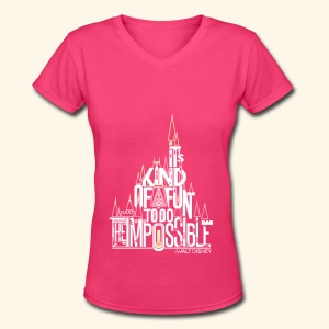 The Impossible - Women's V-Neck T-Shirt
