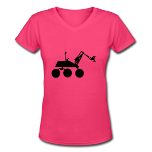 USST Rover Black - Women's V-Neck T-Shirt