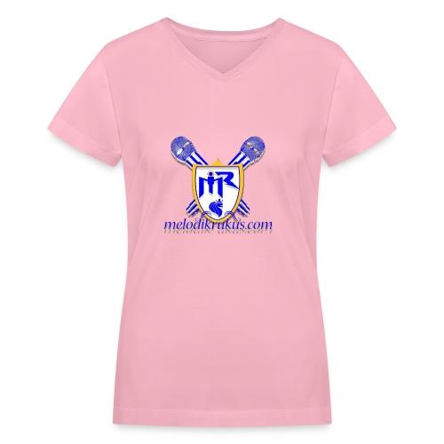 MR com - Women's V-Neck T-Shirt
