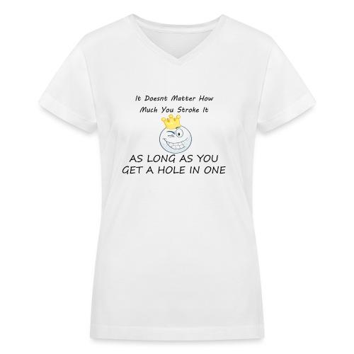 The Crew GWYF - Women's V-Neck T-Shirt