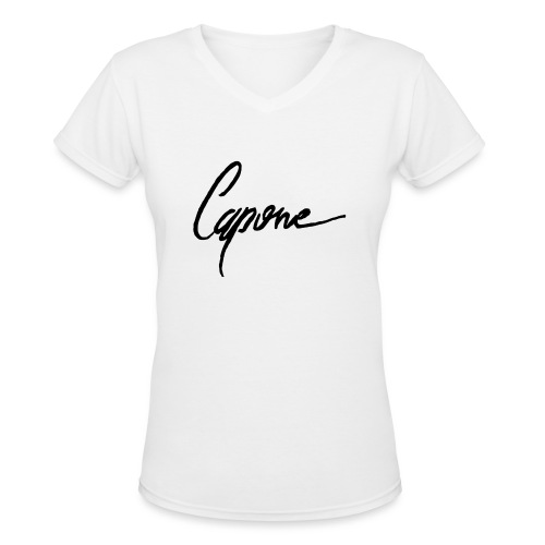 Capone - Women's V-Neck T-Shirt