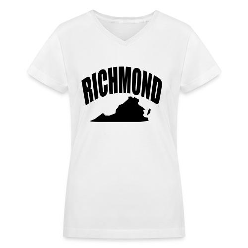 RICHMOND - Women's V-Neck T-Shirt